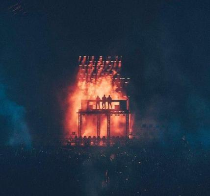The Swedish House Mafia reunited… great to see the boys back together! You can c...
