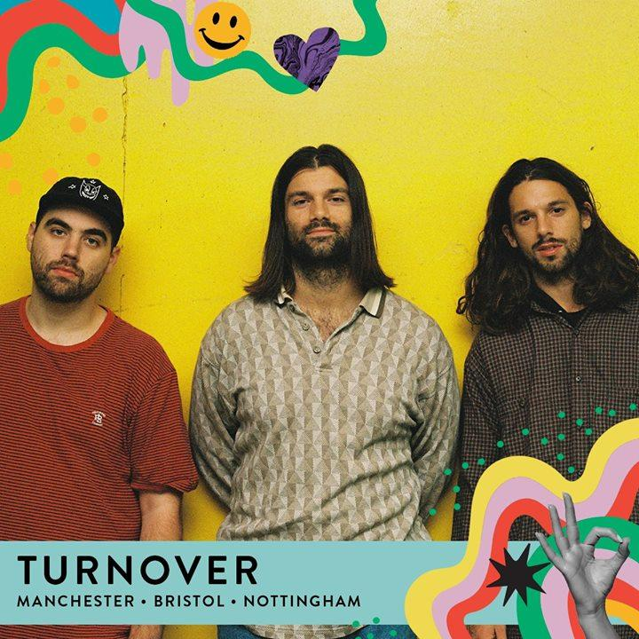 Joining us this year from Virginia Beach are Turnover. Fresh from the release of...