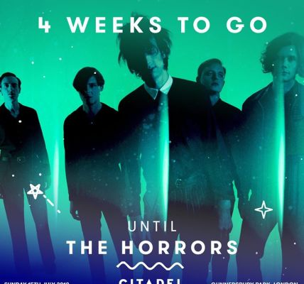 There's just four weeks until you can catch The Horrors at  #Citadel18, along wi...