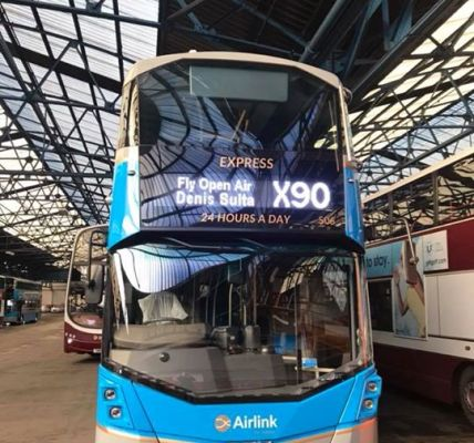 Lothian Buses TRANSPORT TO FLY Open Air ...