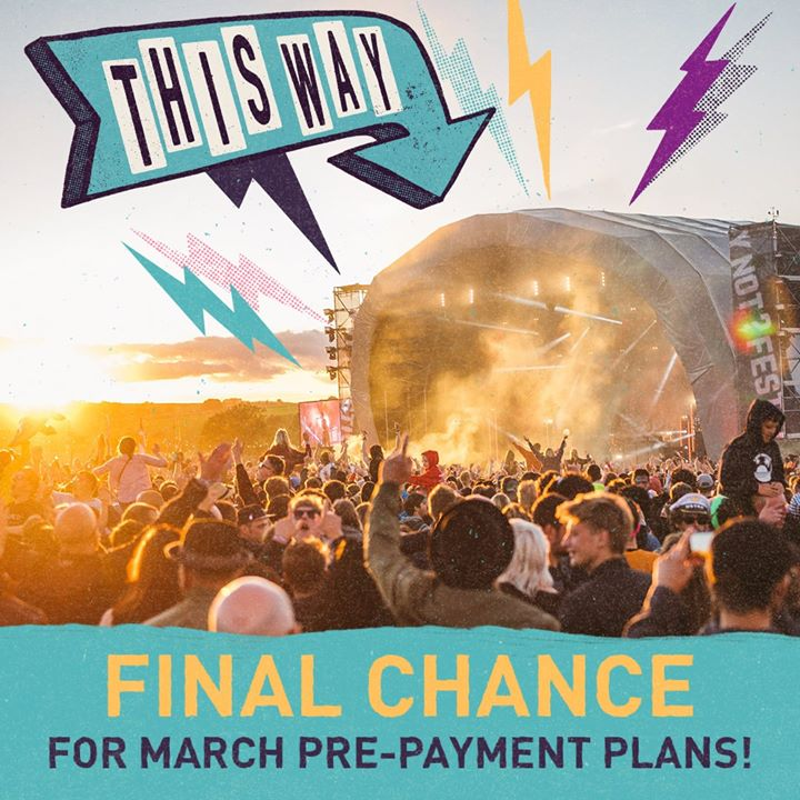 FINAL CHANCE FOR A PRE-PAYMENT PLAN. ...