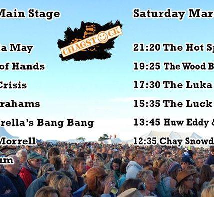 Saturday festival timings!