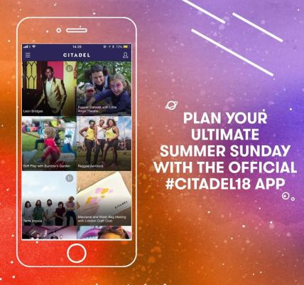The #Citadel18 app