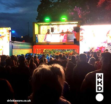 WKD joined us in the fields last year, bringing their spectacular stage and invi...