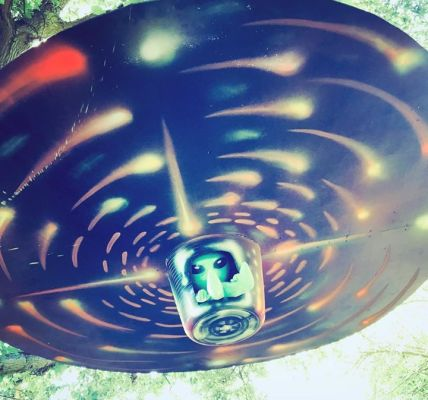 Sneaky peek...  Strange UFO sightings over in the OUTER LIMITS! ...