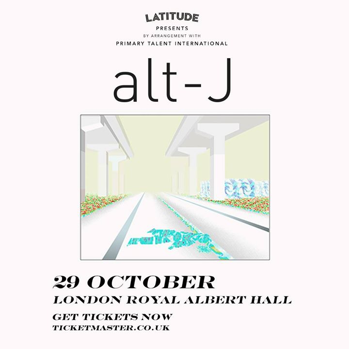 Tickets are now on sale for the upcoming alt-J tour!  See your incredible Latitu...