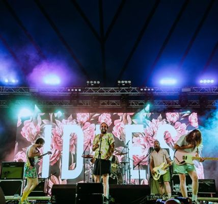 We interviewed Bristol punks IDLES backstage at Latitude Festival before they to...
