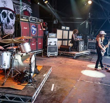 The Cadillac Three deliver a storming set at  #RMFair2018