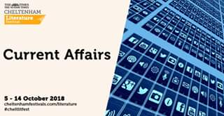 Current Affairs events at #cheltlitfest