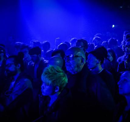 Convergence and Rockfeedback presented a special evening of A/V experimentation ...