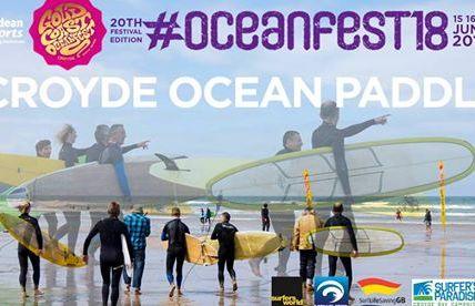 Croyde Ocean Paddle Race