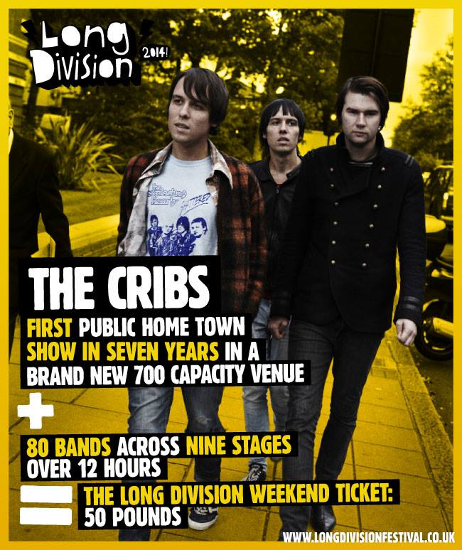 We just realised it was four years ago yesterday that we brought The Cribs to Wa...
