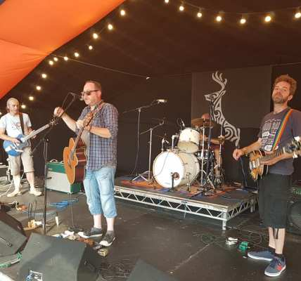 Nottinghams The Amber Herd gracing the Roy Stone Stage at DeerstockDeerstock 201...