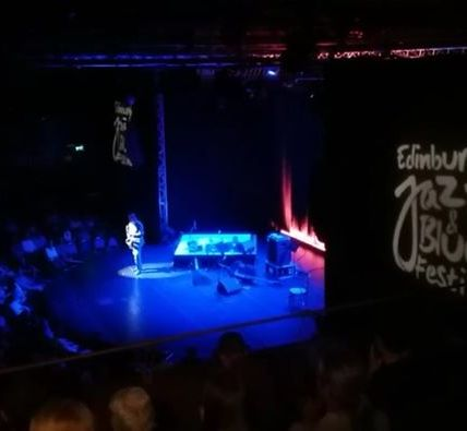 We're live with Tommy Smith - Saxophonist as he performs before Dave Holland, Za...