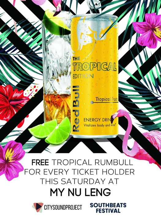 FREE DRINK FOR EVERY TICKET HOLDER at My Nu Leng - Canterbury | City Sound Proje...
