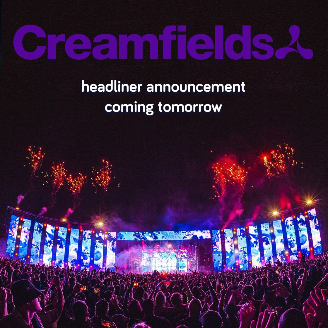 Headliner announcement coming tomorrow 12pm GMT....