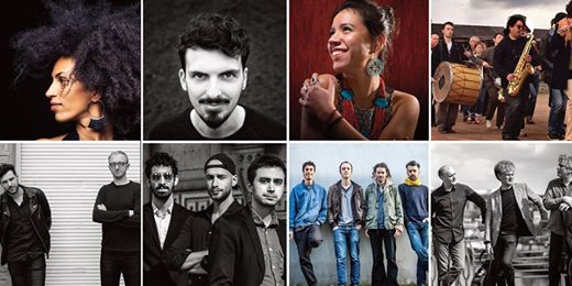 Explore exciting modern jazz from Belgium with influences from Moroccan drummers...