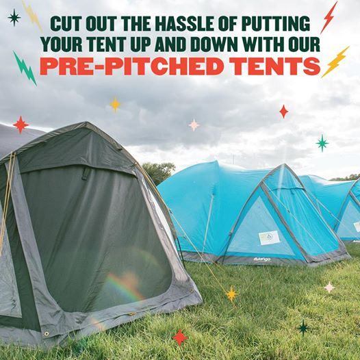 Brand new for 2019 - Pitch Village...