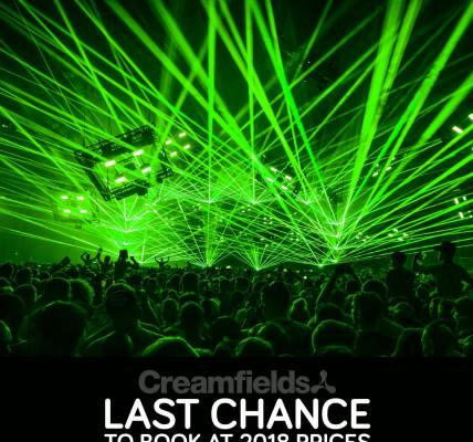 Last chance to book at 2018 prices, secure your ticket now for just £20 deposit...