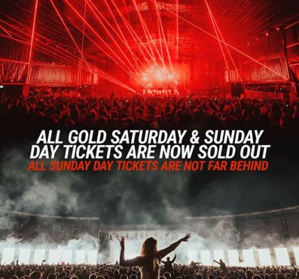 All Gold Day tickets are now sold out....