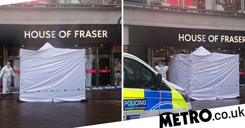 Homeless woman found dead in doorway of House of Fraser
