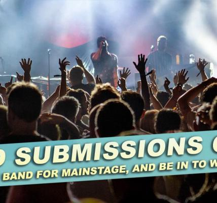 Submit a band to play Camden Rocks Festival's main stage!