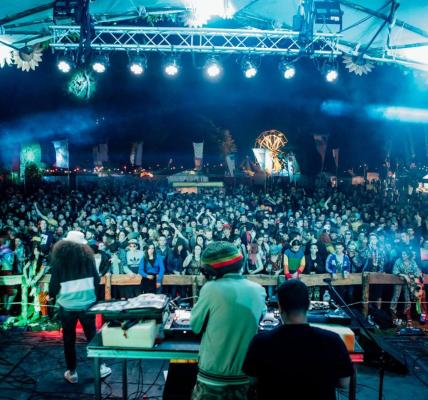 Congo Natty aka Rebel MC - The Official Page on the Devorgilla Stage in 2016