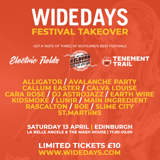 We're really excited to have been asked to select 4 bands for the all-new W...