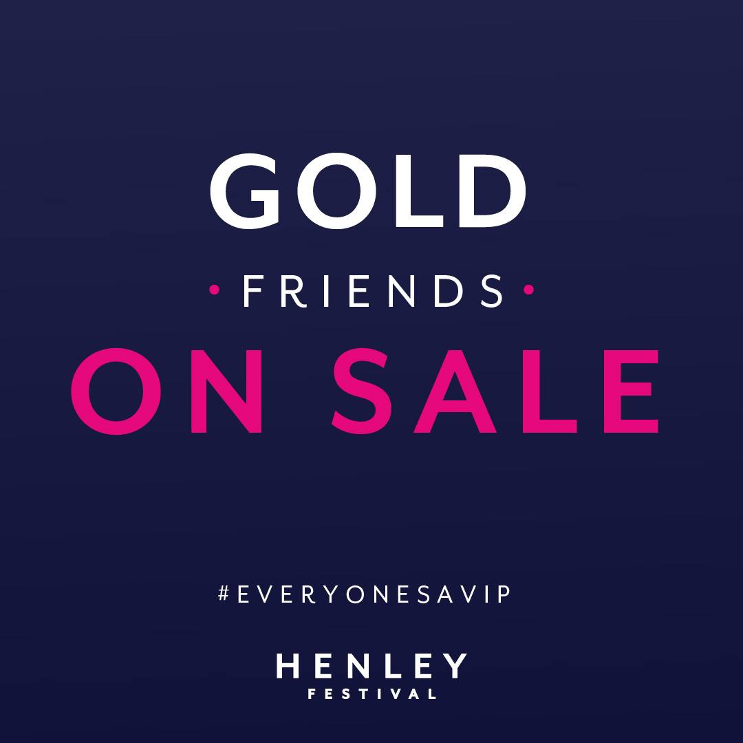 Tickets on sale now for Gold Friends!...