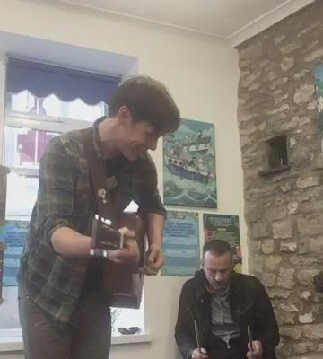 We're here! Swing by Shap Chippy from now 'til 6:30PM to catch acoustic sets fro...