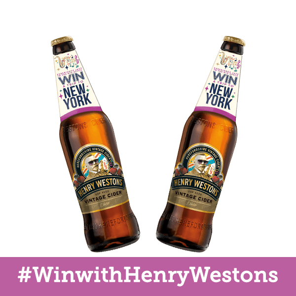 Win a trip to New York with Henry Westons Cider!!...