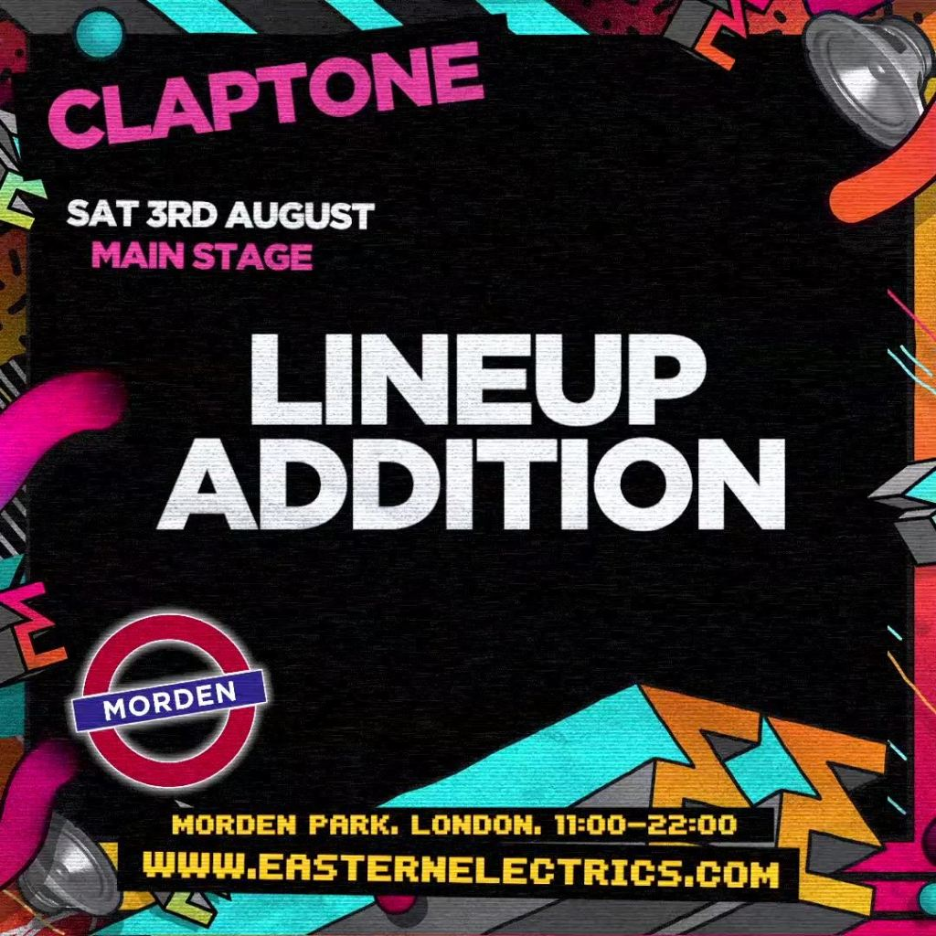Special Guest Announced: Claptone...