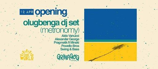 One week to go until the Minigog Music Weekender opening party One World Cafe...