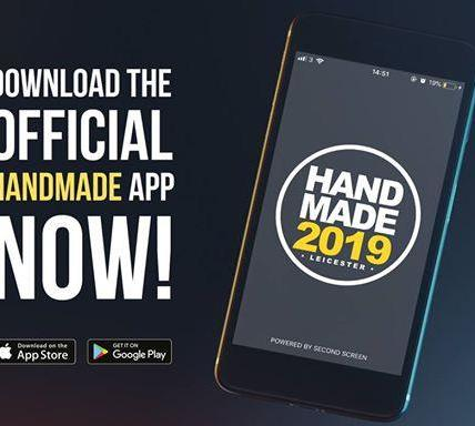 The Handmade 2019 schedule will go live at 9am tomorrow morning in our app. Make...