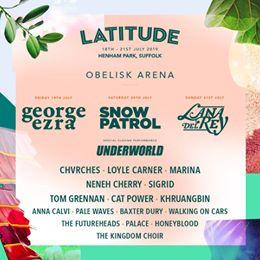 Over 100 new acts added to your Latitude 2019 line up!  Explore all our new addi...