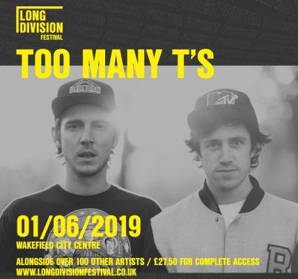 Too Many T's played the first ever Long Division Festival way back in 2011. Sinc...