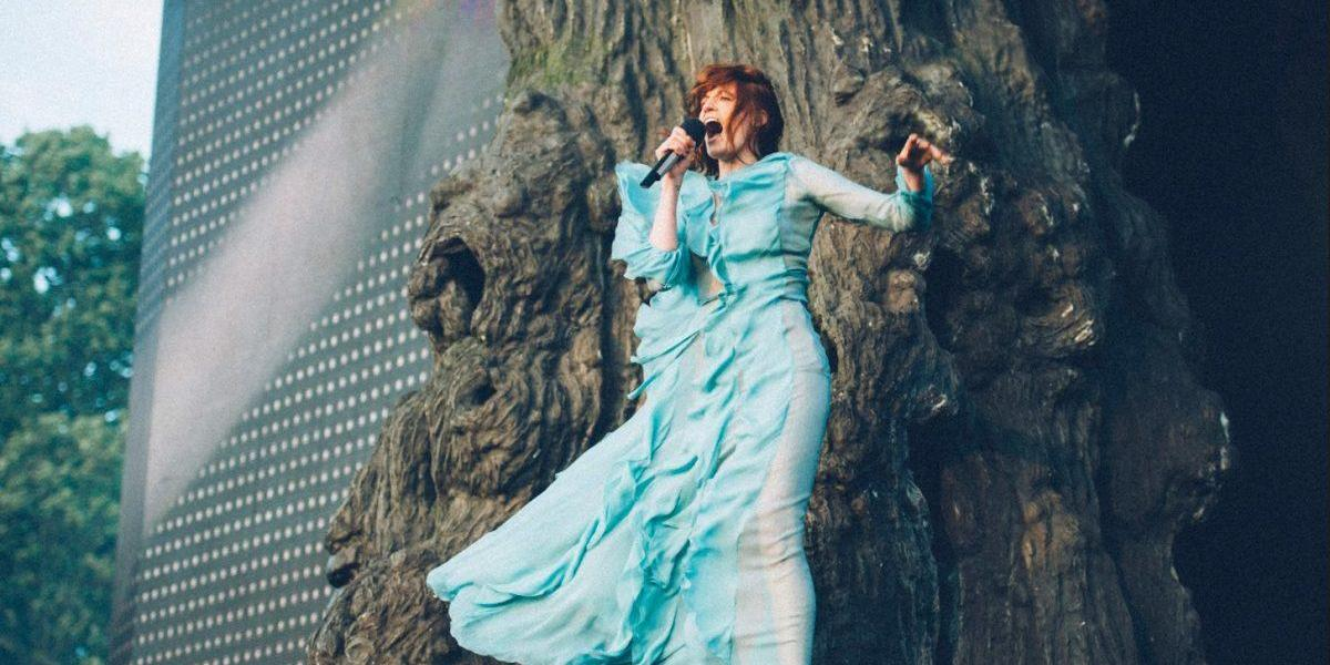 Throwback to Florence + The Machine playing in 2016. One month to go!...