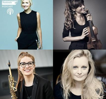 Podcast  | #cheltmusicfest Artistic Director Alison Balsom OBE sat down with the...