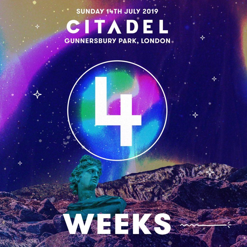 Only 4 weeks to go until #Citadel19…   Don't miss your chance to see Catfish and...