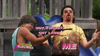 Kenny Powers knows a deal when he sees one!