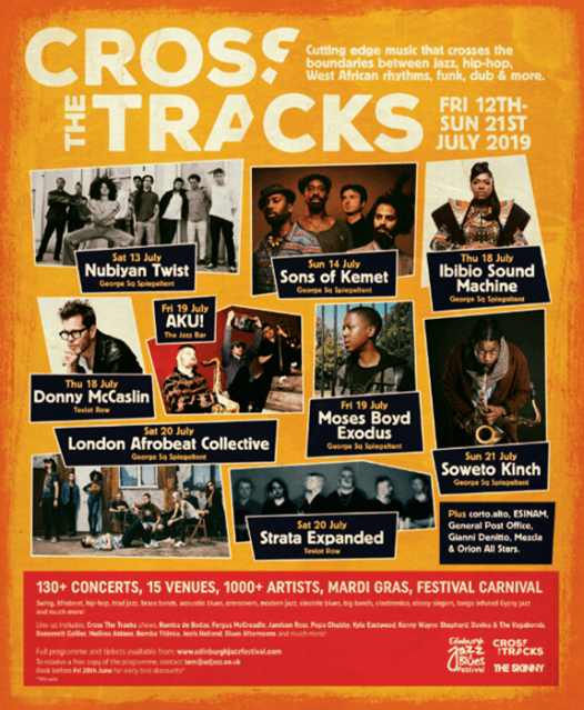 Cross the Tracks is back in 2019 with a sensational line up, featuring some of t...