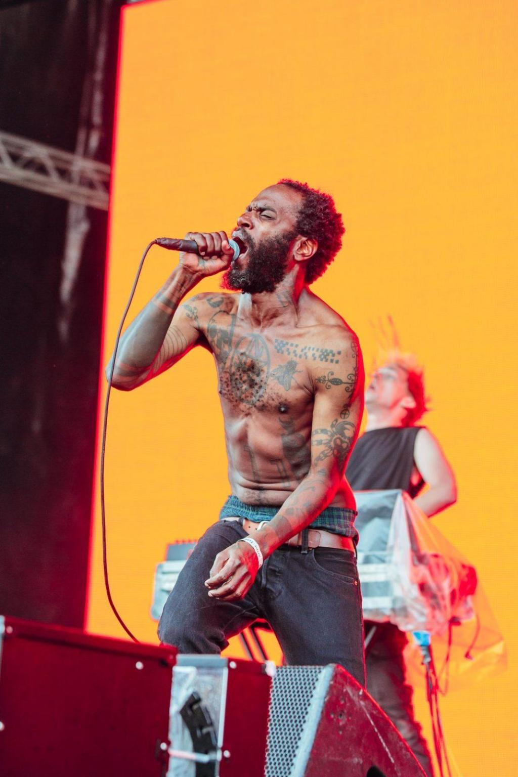 Welcoming back Death Grips for an unforgettable set