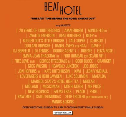 The Beat Hotel - Glastonbury is back with a fantastic line-up for #Glastonbury20...