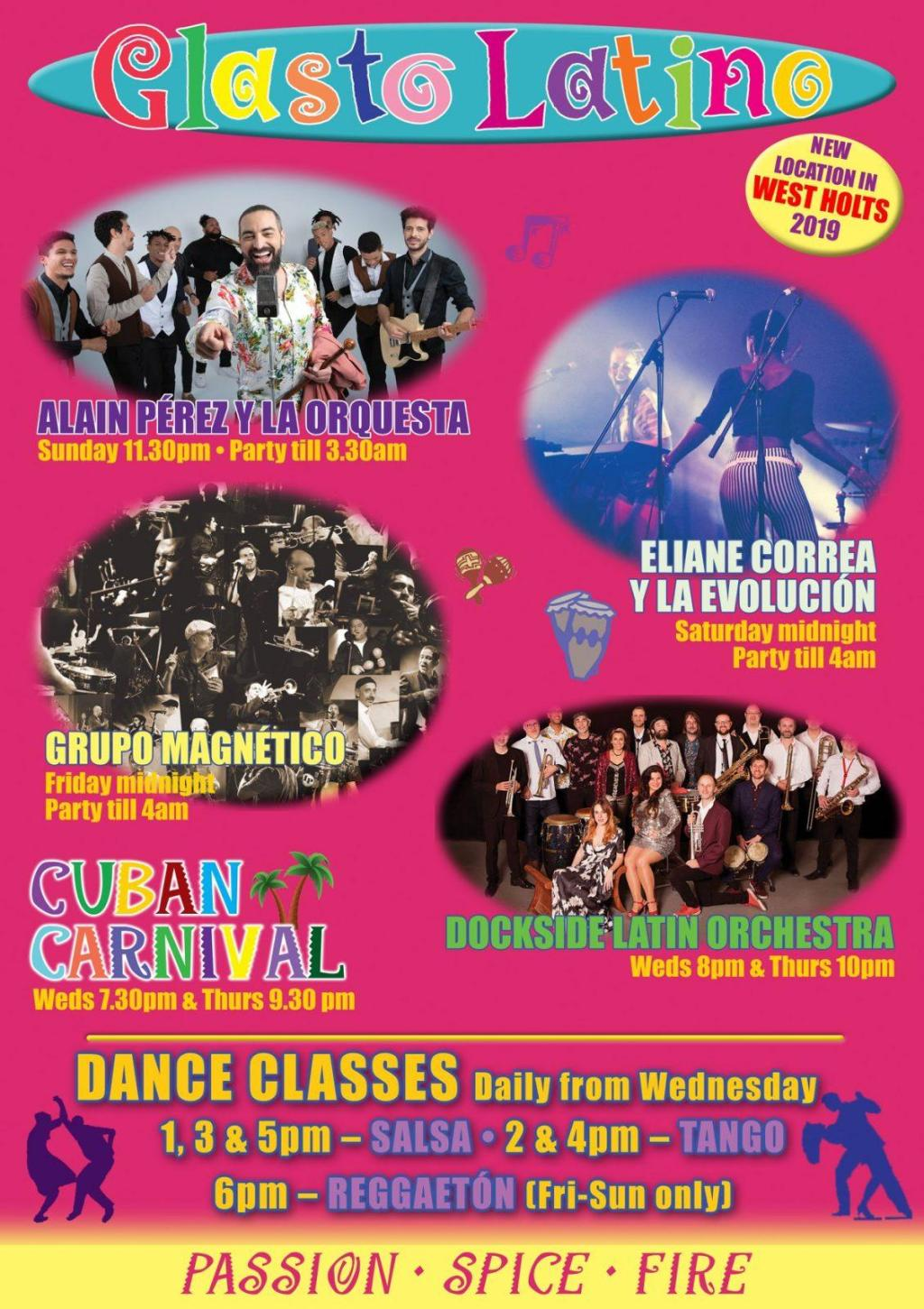 The wonderful Glasto Latino stage is bringing its passion, spice and fire to a n...