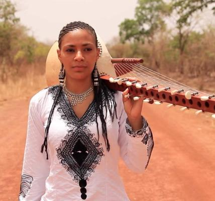 Traditionally played only by men, the Kora is a West African instrument synonymo...