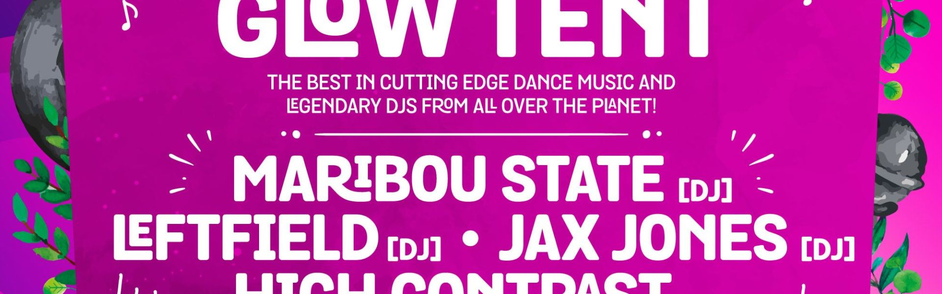 From Maribou State [DJ] and High Contrast [DJ] to Darkzy and Monki - DJ, don't m...