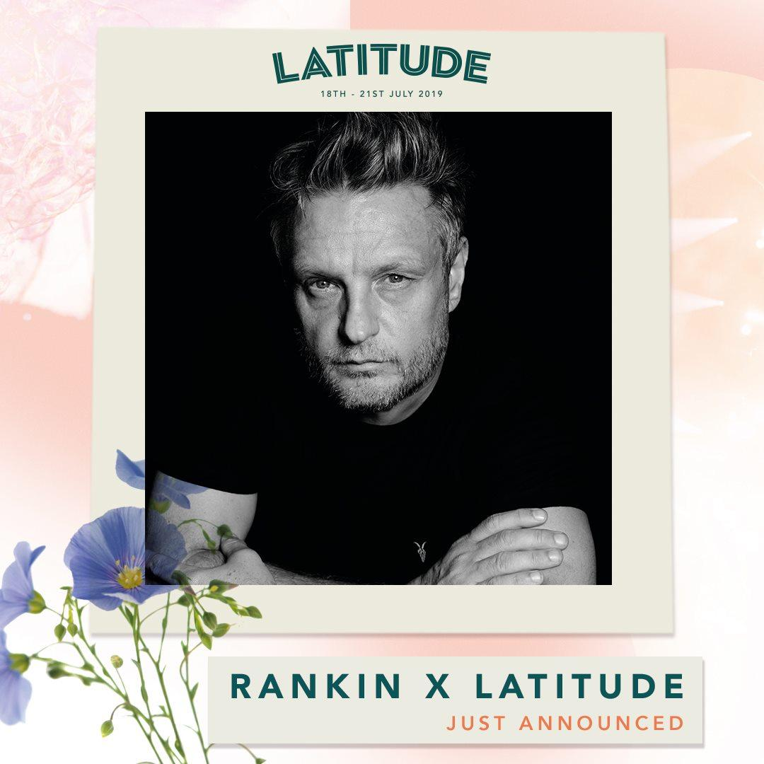 Announcing Rankin X Latitude!  Join iconic British photographer Rankin for a key...