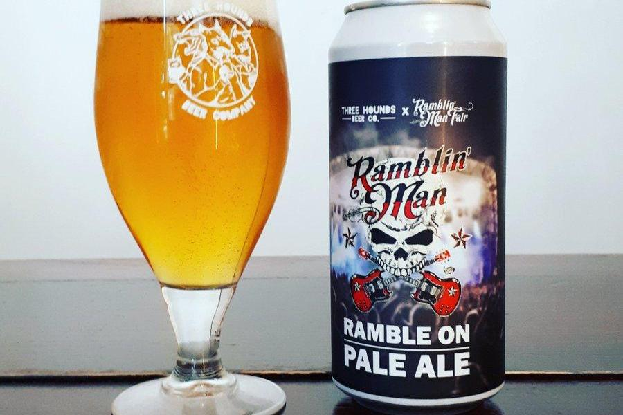 When a rock festival brews its own beer, now that's rock n' roll...!...