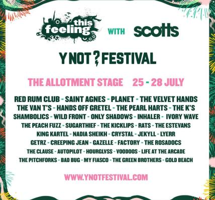 THE ALLOTMENT LINE-UP IS HERE!...