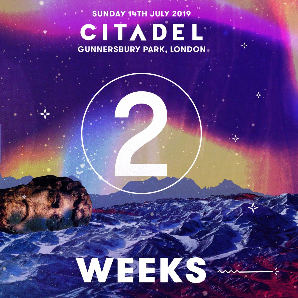 2 weeks to go… or 14 days, or 336 hours or… just enough time to get your tickets...